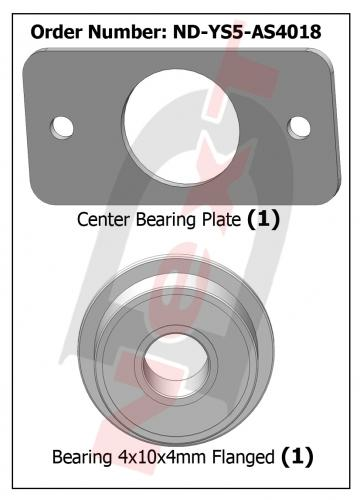 ND-YS5-AS4018 Center Bearing Plate