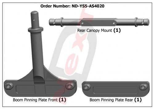 ND-YS5-AS4020 Canopy Mount Set