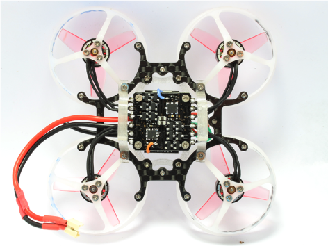 RKH CNC Delrin and Carbon 66mm Brushless Whoop Kit