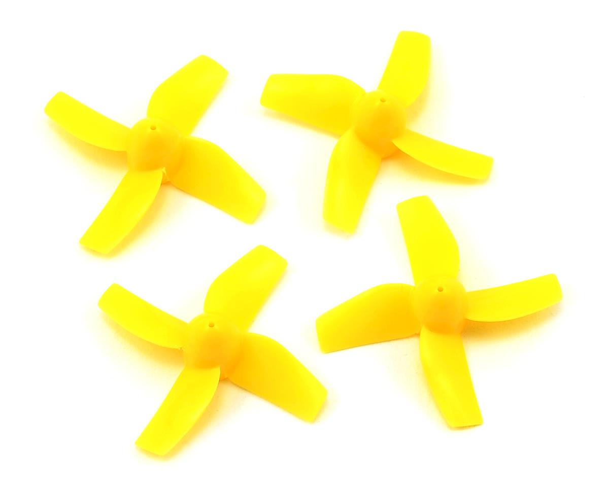 Warlark80FPV用35mm 4-blade prop 4 pcs(Yellow)