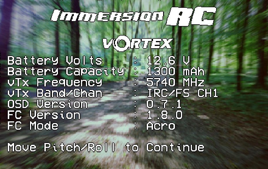 ImmrsionRC Vortex – Race Quad ARF Kit ※在庫あり