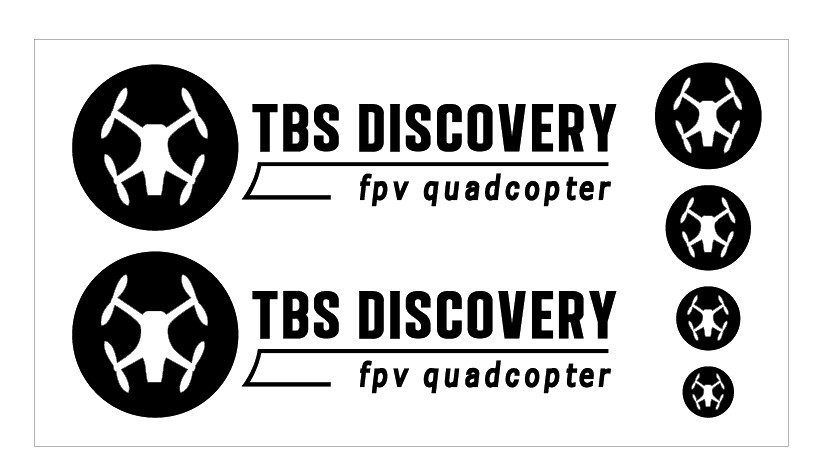 TBS DISCOVERY ステッカー黒
