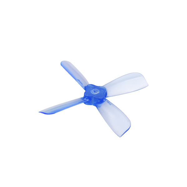 Gemfan 2035 1.5mm 4-Blade Bullnose Propellers 2pair (Blue)
