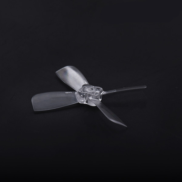 Gemfan 2035 1.5mm 4-Blade Bullnose Propellers 2pair (Clear)