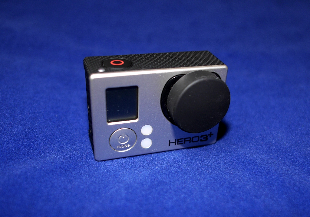GoPro HERO3 - Silicone Lens Cover (Black)