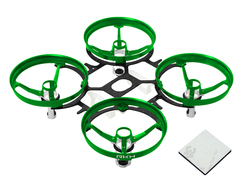 RKH CNC AL and CF Upgrade Kit (6mm Motor) (Green) - Blade Induct