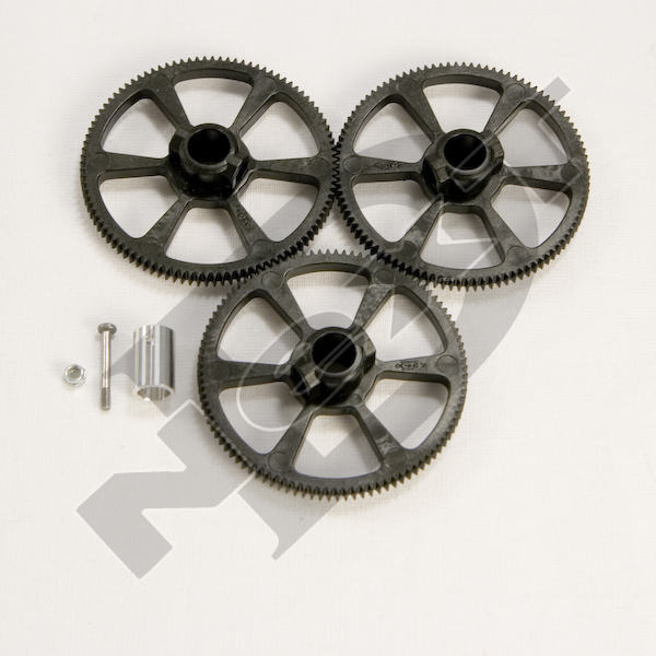 ND-YR-AS036 100 tail gear set - Rave 450