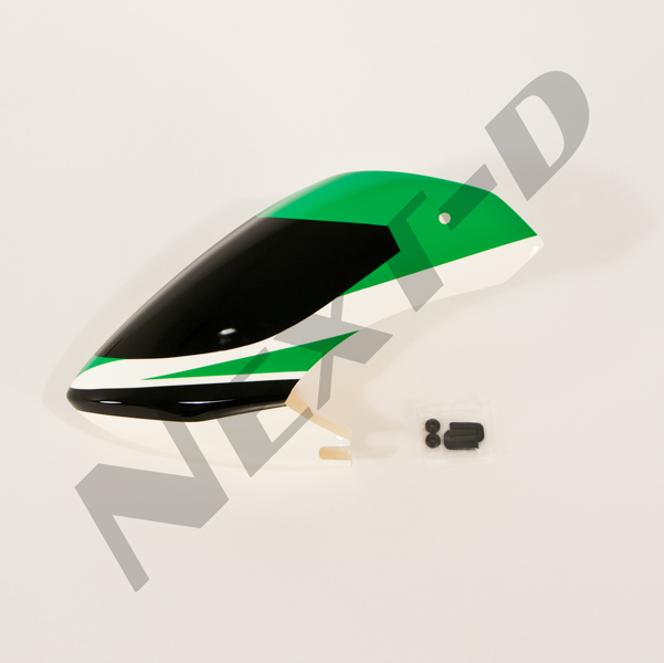 ND-YR-AS090 Canopy set, painted(Green) - Rave 450