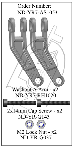 "ND-YR7-AS1053 - Washout ""A""Arm R7"