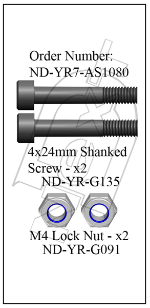 ND-YR7-AS1080 - Main Shaft Bolt Set R7