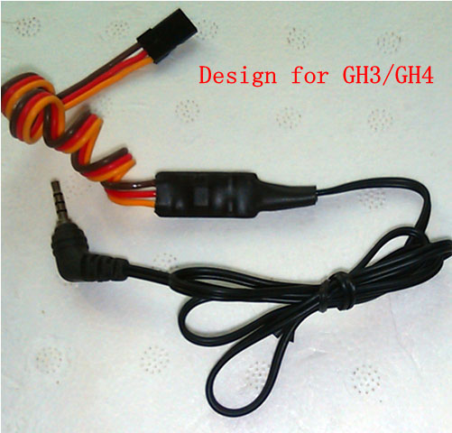 Remote Control Shutter for Panasonic GH3, GH4 etc