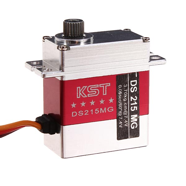 KST DS215MG High Voltage Servo (3.7kg/0.05sec)