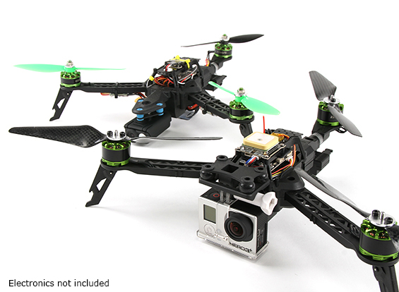 FPV300 Mini Foldable Tricopter Frame Kit+専用サーボ ※入荷!