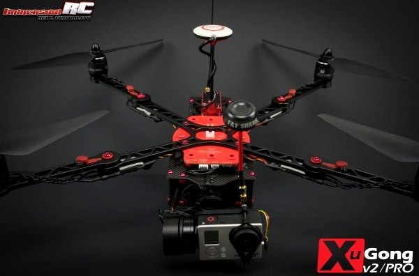 ImmersionRC XuGong v2/Pro Kit with Gimbal ※入荷!