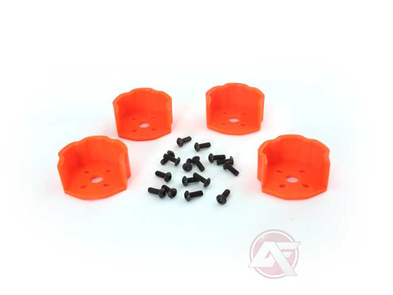AerialFreaks Plastic Motor Cover For QAV250/QAV-R - Orange