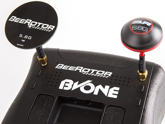 "BeeRotor BVONE 5.8G 40CH Diversity FPV Goggles Build-In 5"" LCD V - ウインドウを閉じる"