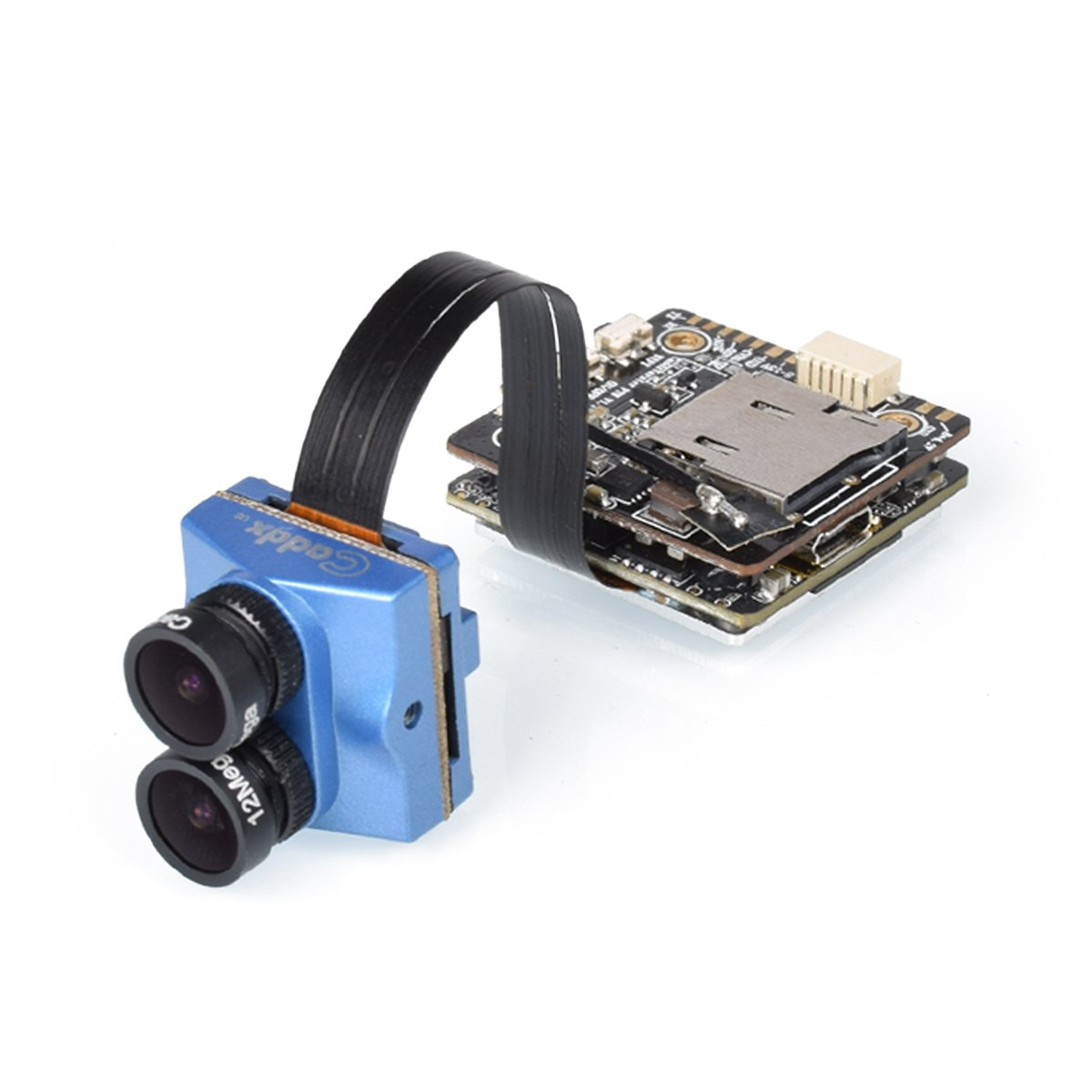 Caddx Tarsier FPV Camera DVR 4K HD Recording OSD(BLUE)