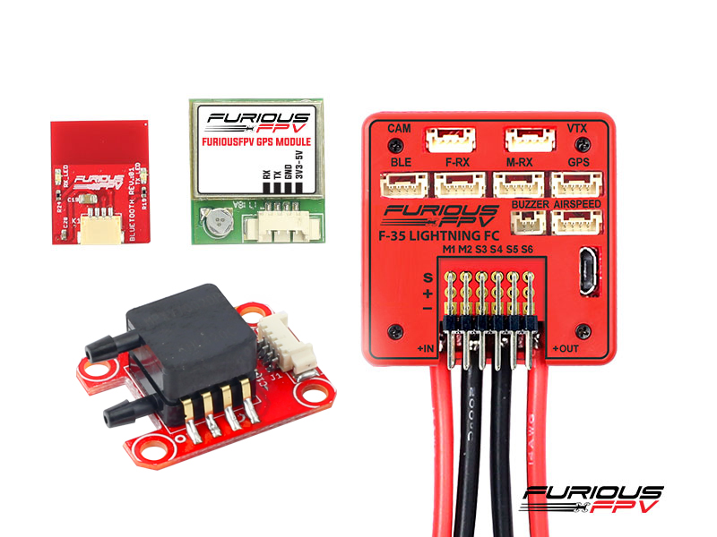 FuriousFPV F-35 Lightning Flight controller Full Options