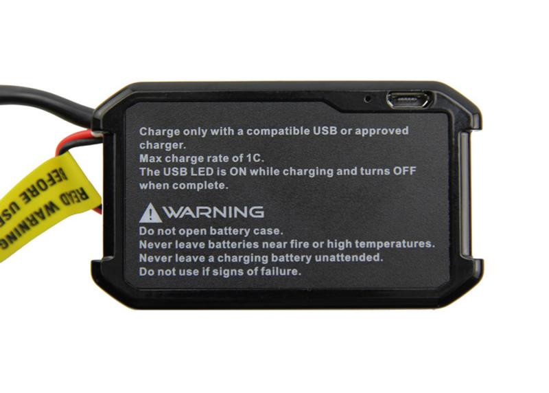 Fatshark USB Charging Battery Pack 1800mAh 2S