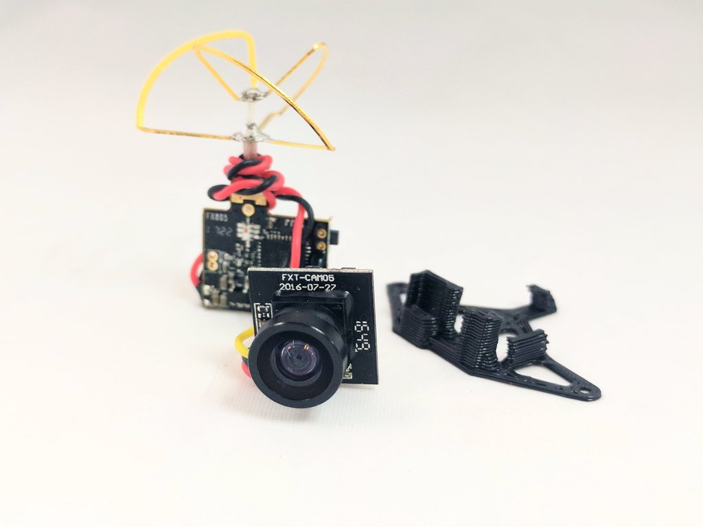 5.8G 25mW TW FX900TW Detached Ultralight Camera Combo(RHCP)