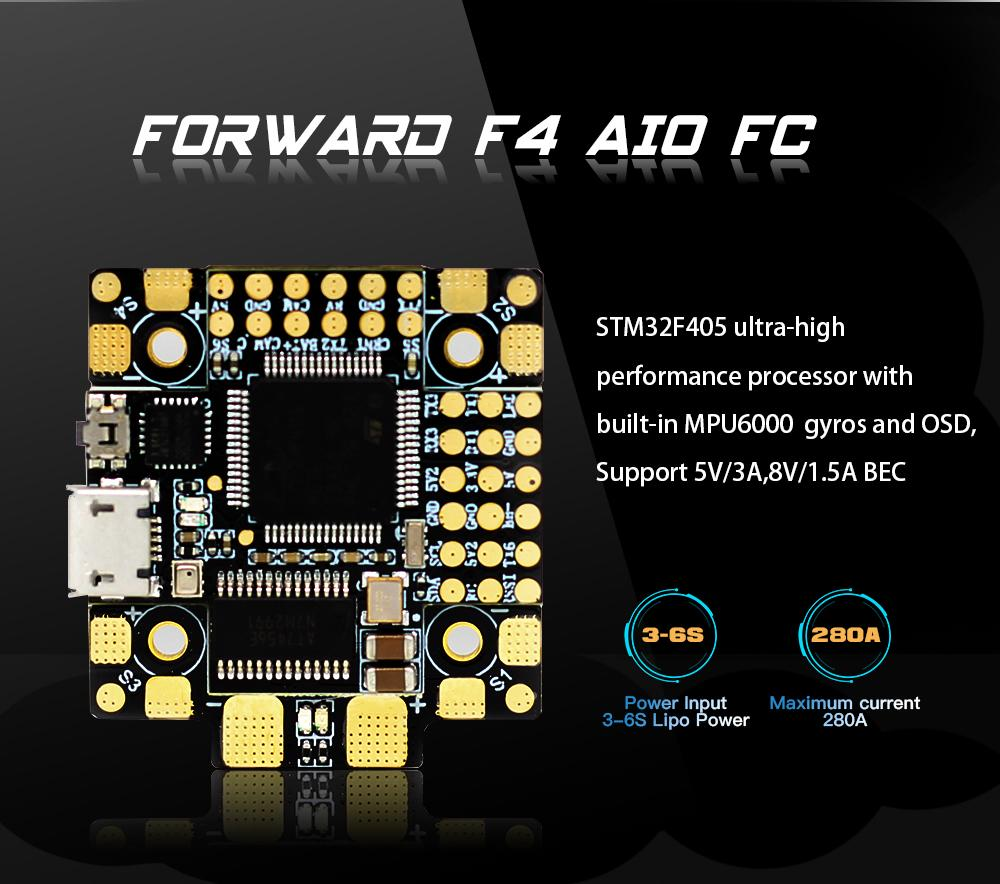 HGLRC Forward F4 AIO Flight Control
