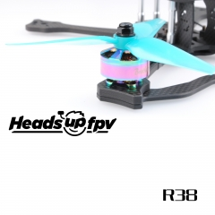 HQ HeadsUp Racing Prop R38 Blue (2CW+2CCW)-Poly Carbonate