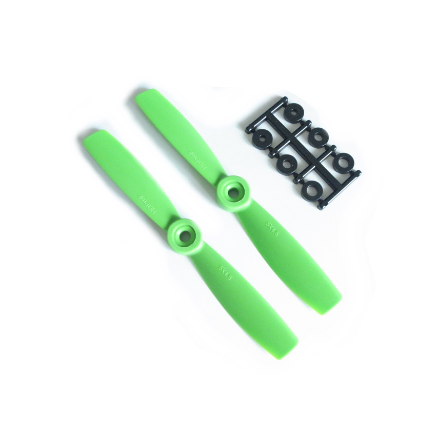 HQ-Prop 4x4.5 Bullnose Set (2x CCW) Green
