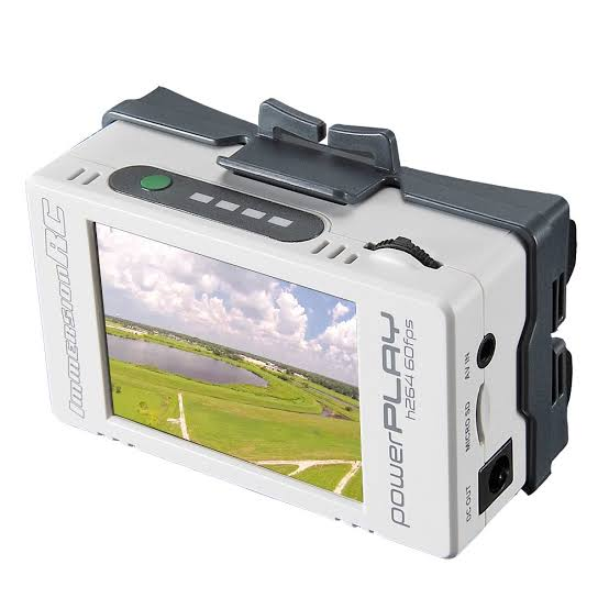 ImmersionRC PowerPlay - FPV DVR (h264, 60fps) モニター付