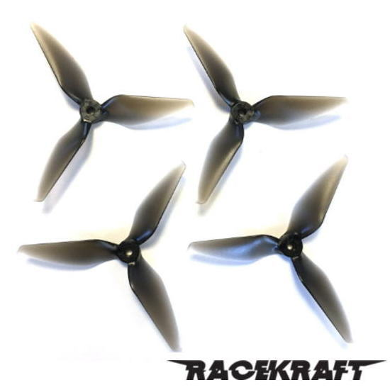 RaceKraft 5051 Tri-Blade (Set of 4 - Clear Black)