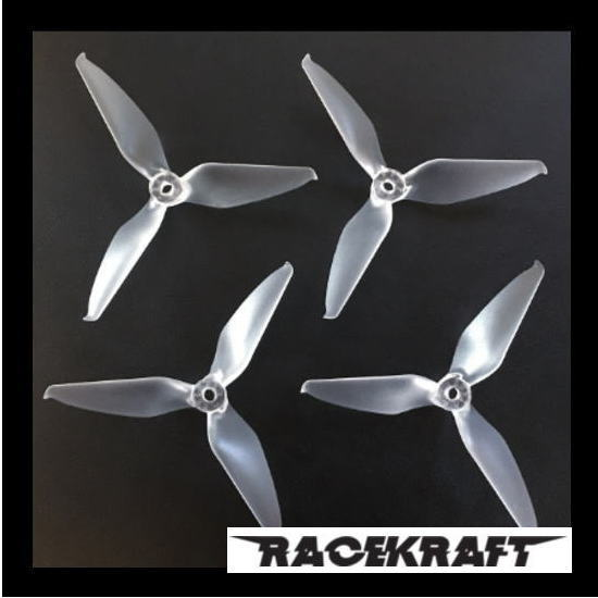 RaceKraft 5051 Tri-Blade (Set of 4 - Clear)