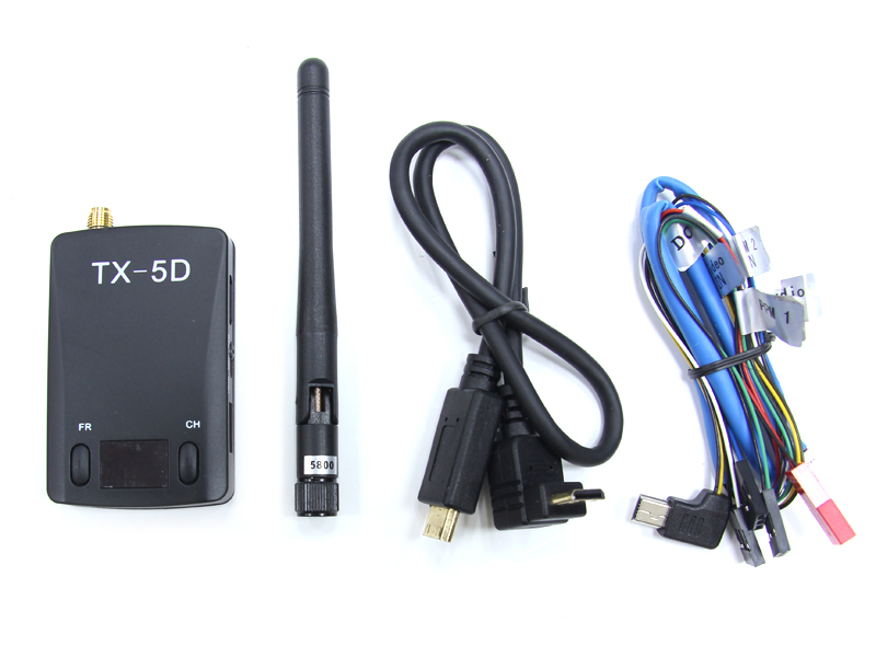 TX-5D 5.8G 600mW 32 Channel HDMI to AV Transmitter - ウインドウを閉じる