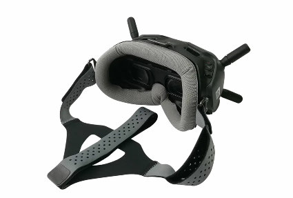 DJI Digital HD FPV Goggles用 WLYL Face Plate Head Band(Gray)