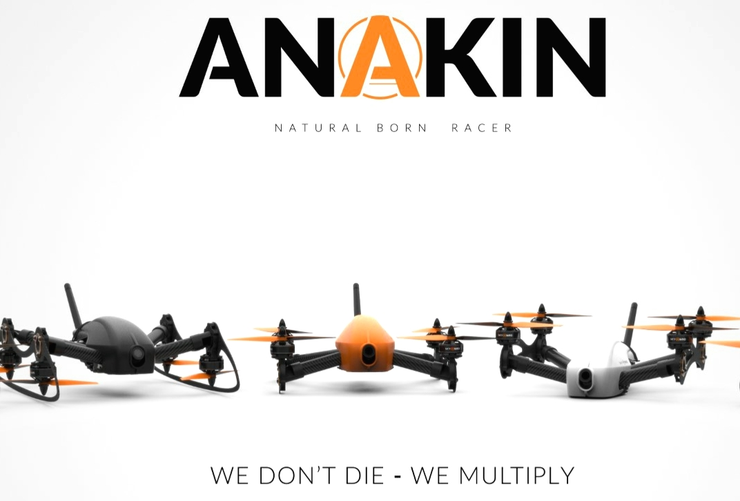 Sky-Hero Anakin FPV Racing Quadcopter Kit ※入荷!