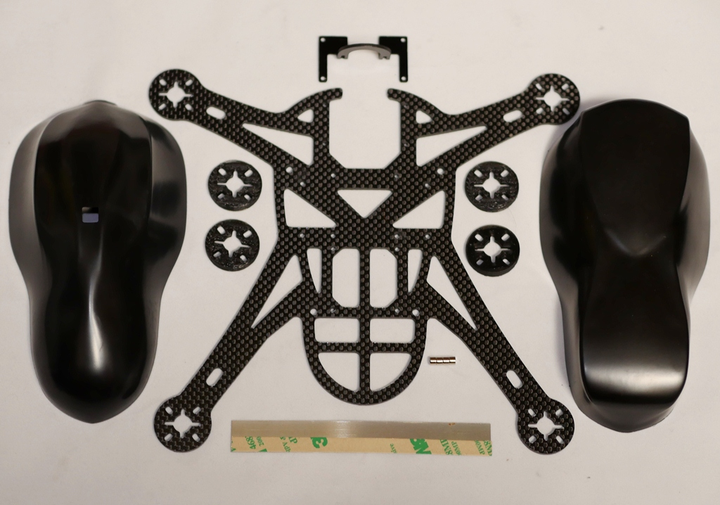 Bandit Aero Quadcopter Carbon Frame FPV Kit (Cam Body)