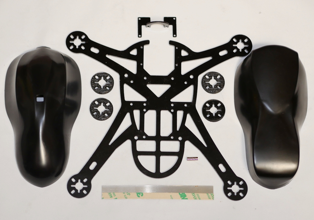 Bandit Aero Quadcopter G10 Frame FPV Kit (Cam Body)