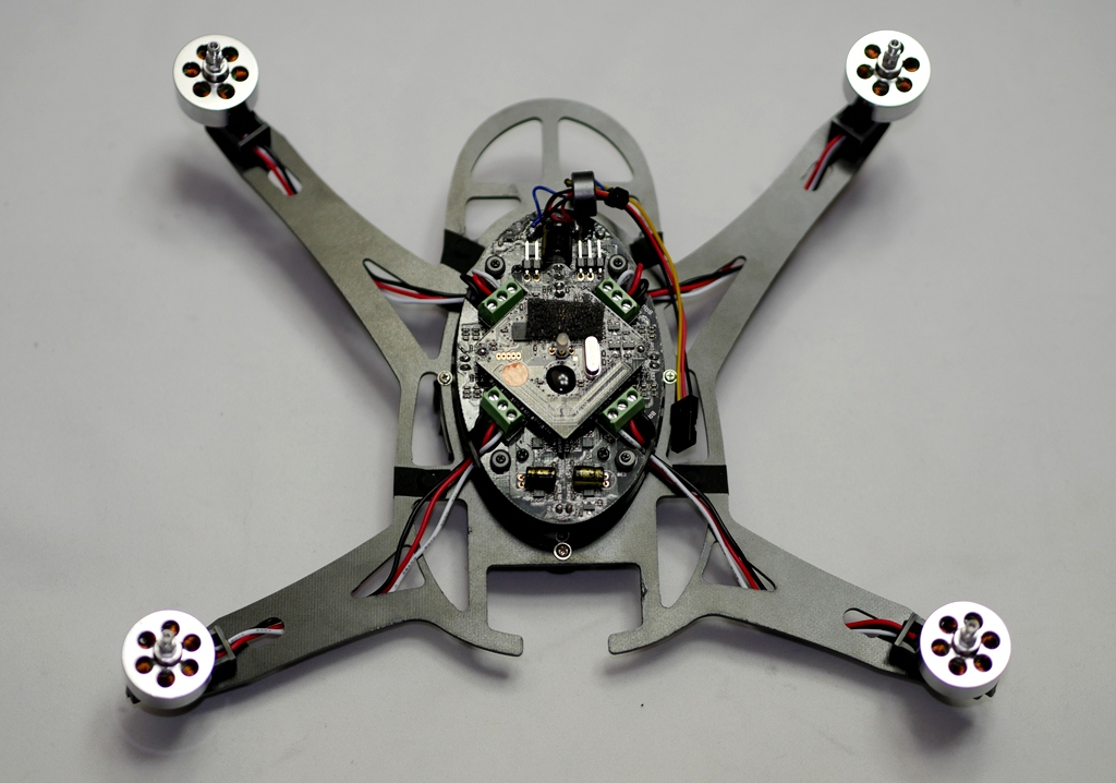 Bandit Aero Quadcopter Carbon Frame Kit (One Xtreme conversion) - ウインドウを閉じる