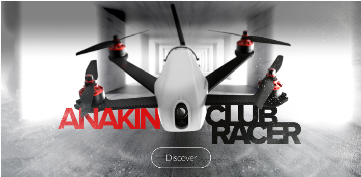 Sky-Hero Anakin Club Racer Quadcopter Kit ※入荷!
