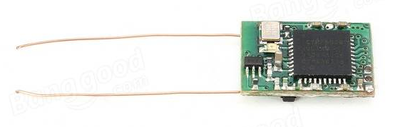 Micro DSMX Receiver for Brushed Drone(0.7g)