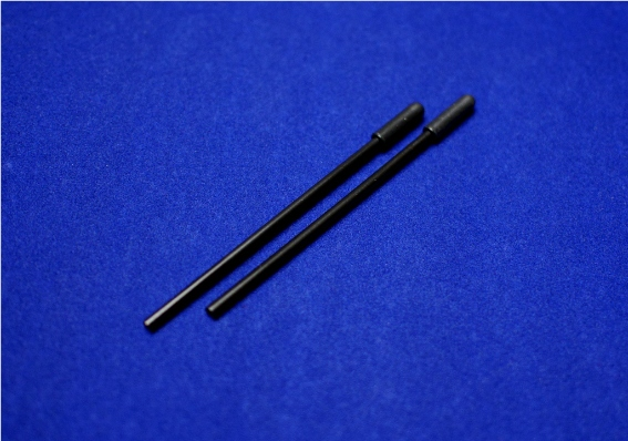 ep-models Antenna Tube -Black (100mm x 4mm, 2 pcs)