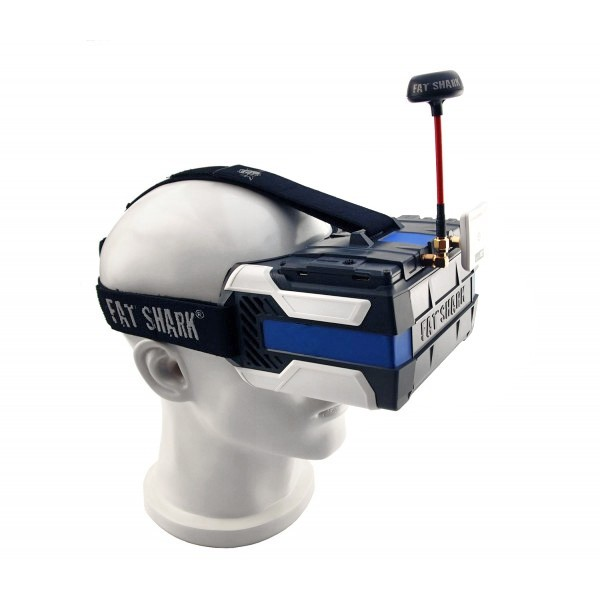 Fat Shark Transformer HD Bundle FPV Headset ※中古美品
