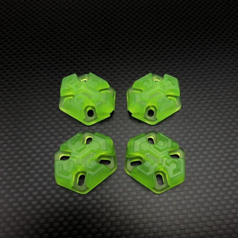 FPVCrate Lume Skids (Set of 4)Green
