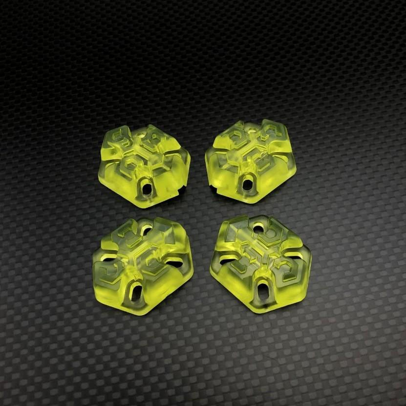 FPVCrate Lume Skids (Set of 4)Yellow