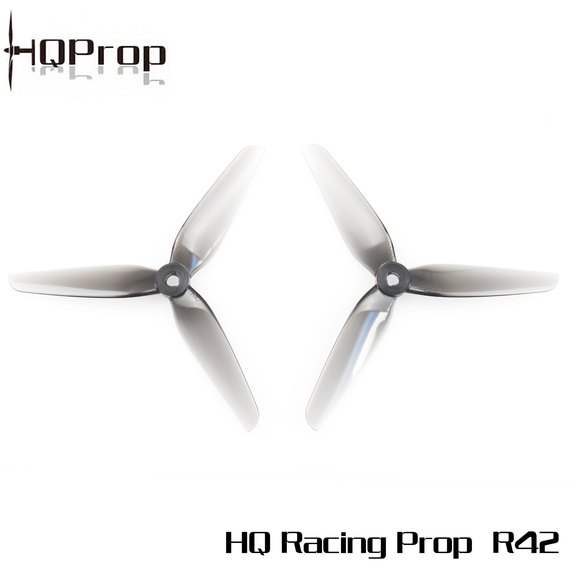 HQ Racing Prop R42 Gray (2CW+2CCW)-Poly Carbonate