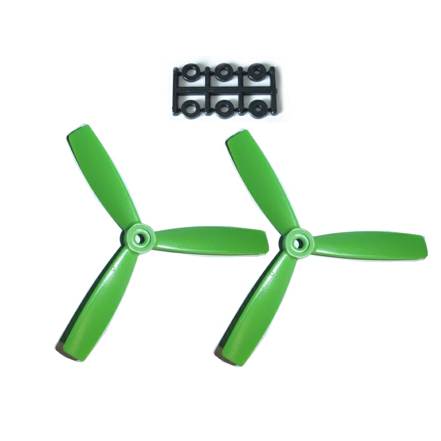 HQ-Prop 5x4.5x3 Bullnose Set (2x CW) Green