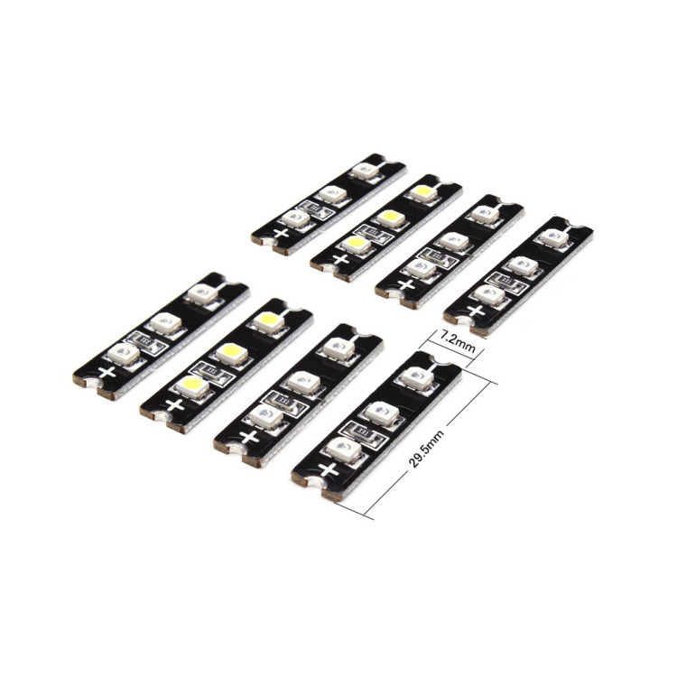 Super Bright LED 4 collor Set × 2