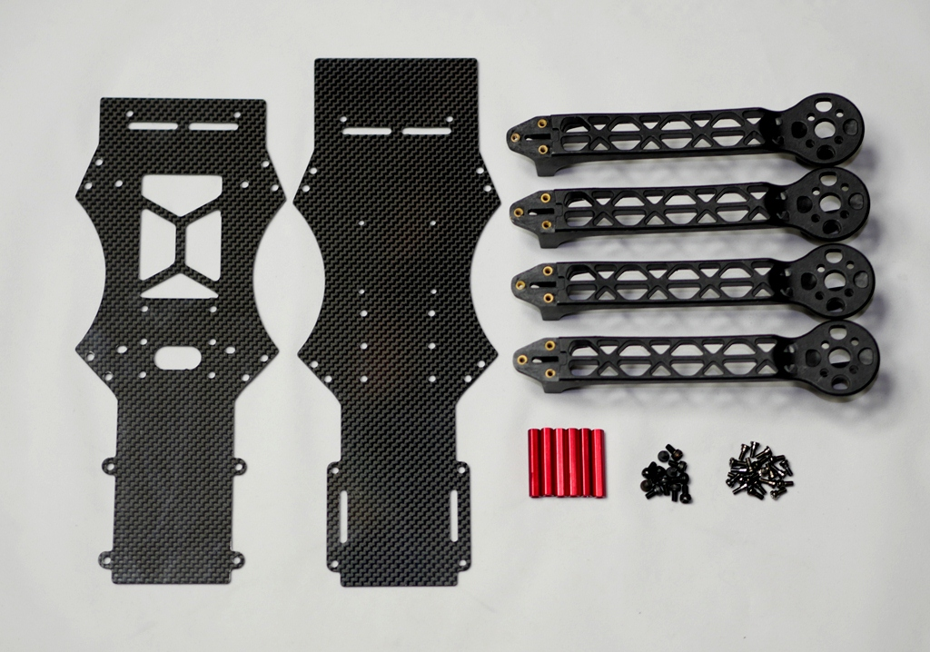 Mini Discovery 350mm Quadcopter Carbon Frame Kit