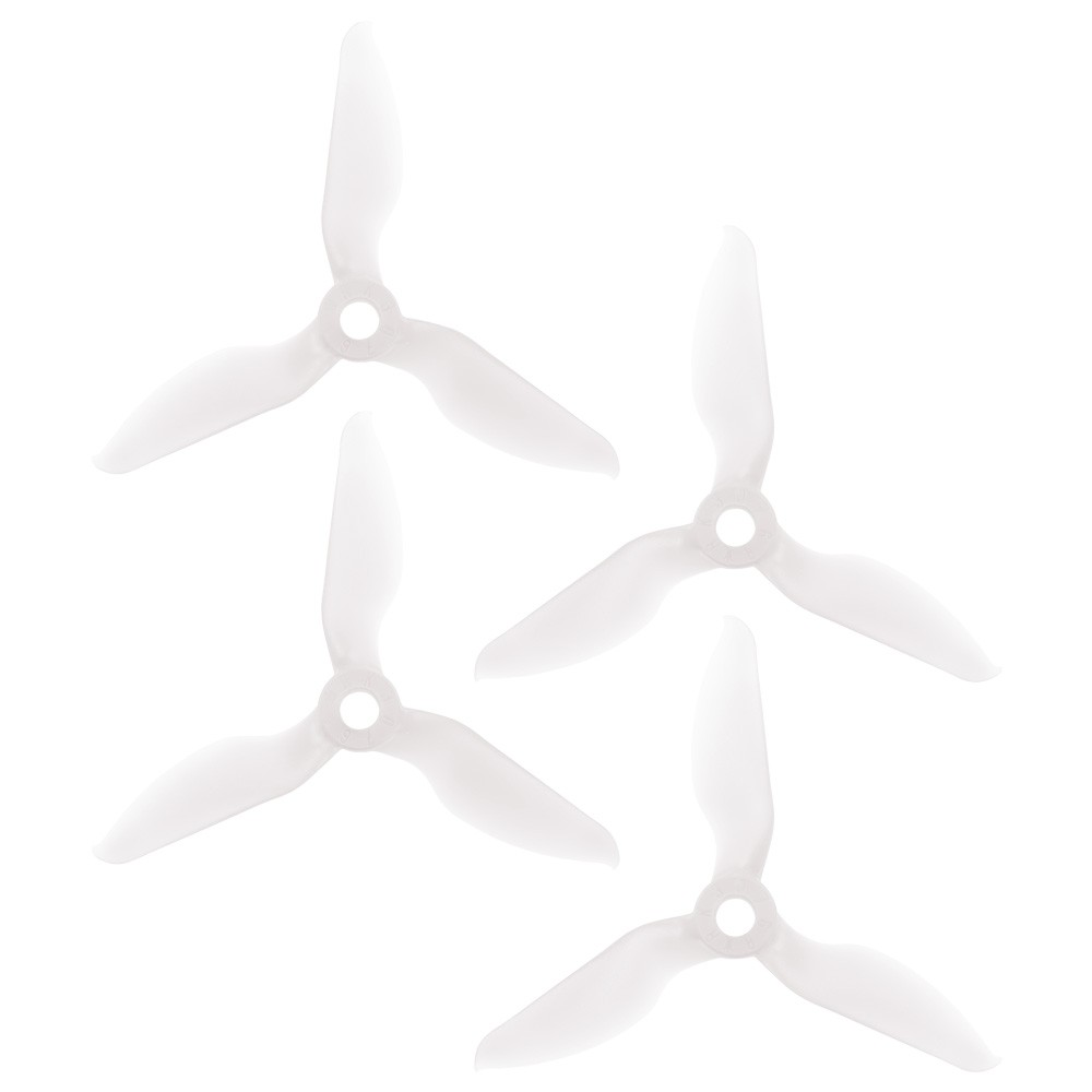 RaceKraft 3076 Tri-Blade (Set of 4 - Clear)
