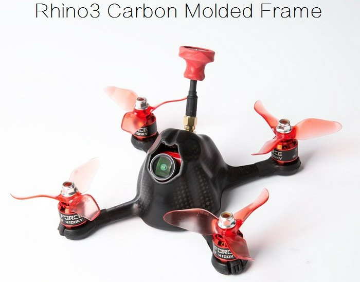 Rhino3 Carbon Molded FPV Racing Frame