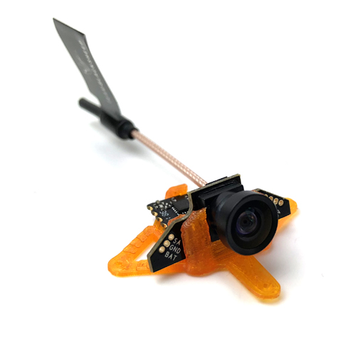 TBS Tiny Camera Mount-20 Degrees(Orange)