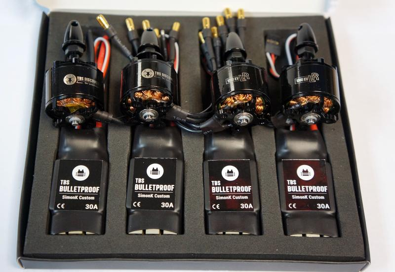 TBS 1000kv LR Brushless Motor/30A ESC 4Set